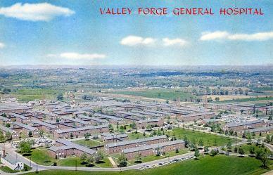 Aerial View VF General Hospital, c. 1960