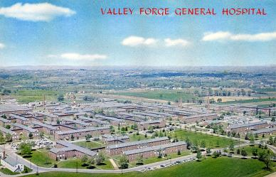 Aerial View VF General Hospital, c. 1960