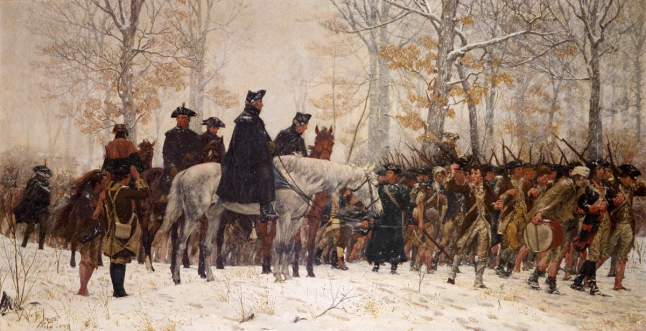 The_March_to_Valley_Forge_William_Trego